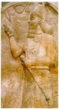 9 Ashurnasipal stele